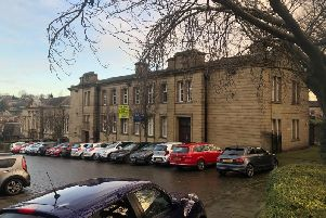 The former Batley Police Station
