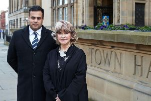 Councillors Nadeem Ahmed and Denise Jeffery said they would work together during the crisis.