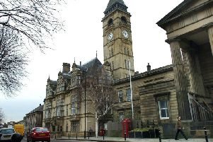 Wakefield Town Hall, where the meeting was held.