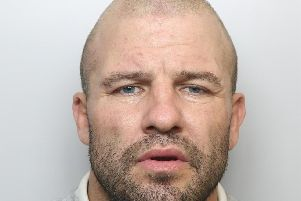 Richard Madaras was giiven an extended prison sentence for swinging an axe at a man in a working men's club and knocking his sister's tooth out when she forgot to buy him cider.