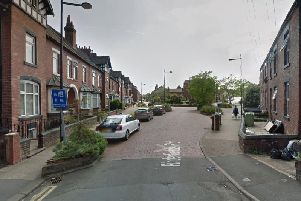 Armed police have carried out searches in the Pindersfield Road area of Wakefield. Picture: Google