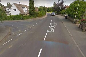 The collision was at the junction with Ingswell Drive and George Lane in the village of Notton.