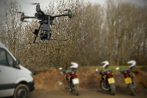 Wakefield District Police have tested the use of drones to support their Matrix off-road team.