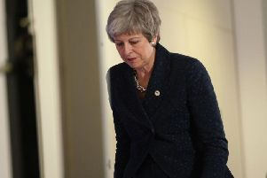 Theresa May's future is very much in the balance as Brexit shudders to a halt (Photo: Getty Images)