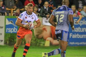 Mike McMeeken, set to return to action for Castleford Tigers after injury.