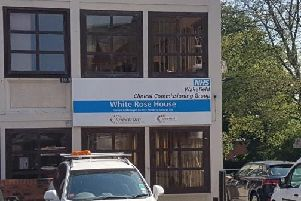 White Rose House in Wakefield, where the CCG's headquarters are based.