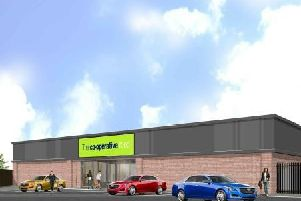 An artist's impression of how the proposed store may look.