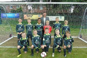 Homegrown football coach unveils new £30K pitches at Ryhill FC