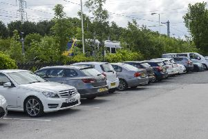 The car park is regularly full before the end of the morning rush hour.