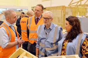 Jeremy Corbyn on his visit to Vision West Notts College