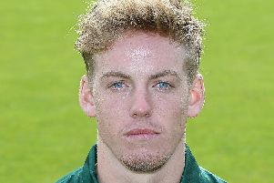 Tom Moores, who has been in fine one-day form for Notts.