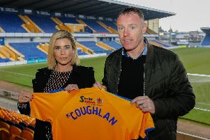 New boss Graham Coughlan knows the Radfords will back him in January but wants to give current players every chance.