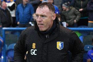 Mansfield's new manager Graham Coughlan
