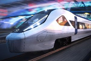 What an HS2 train might look like, designed by Alstom.