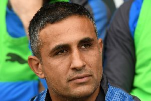 Picture Andrew Roe/AHPIX LTD, Football, EFL Sky Bet League Two,v Chesterfield Town v Cheltenham Town, Proact Stadium, 30/09/17, K.O 3pm''Chesterfield's new manager Jack Lester''Andrew Roe>>>>>>>07826527594