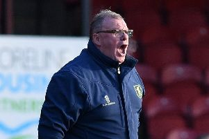 Picture Andrew Roe/AHPIX LTD, Football, EFL Sky Bet League Two, Grimsby Town v Mansfield Town, Blundell Park, 26/12/17, K.O 1pm''Mansfield's manager Steve Evans''Andrew Roe>>>>>>>07826527594