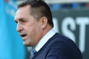 Chesterfield FC Manager Martin ALLEN - Image Jez Tighe