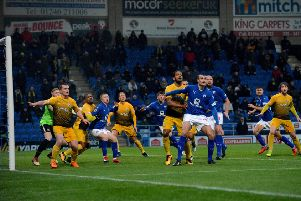 Chesterfield FC v Basford United