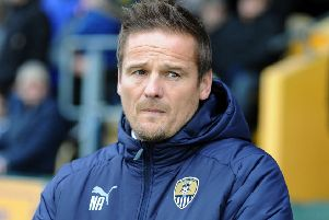 Notts County manager, Neal Ardley.