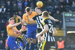 Match action from today's derby