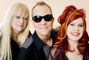 Hits galore as B52s farewell European tour comes to Royal Concert Hall in July