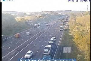 Junction 29A of the M1.