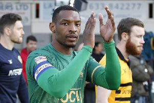 Krystian Pearce wants 25 clean sheets for Stags next season