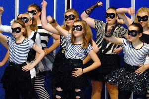 2010: Dancers from the Sarah Adamson School of Dance perform their Beat Bandit routine at the opening of the Byron Festival at the John Godber Centre in Hucknall. Are you on this picture?