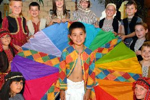 2010: Year five and six pupils from Hucknalls Edgewood School pictured during their performance of Joseph and His Amazing Technicolour Dreamcoat. Are you on this picture?