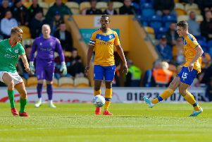New Mansfield Town signing Conor Shaughnessy showed his class on debut