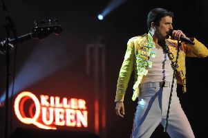 Hits galore when top tribute band Killer Queen play Motorpoint Arena Nottingham this week