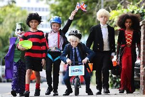 Kids are taking a less traditional approach to dressing up for Halloween this year