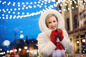 Christmas lights will be switched on across Derbyshire over the next few weeks