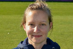 Fran Clarkson, lead physiotherapist at Derbyshire, who is leading pre-season training among the players.