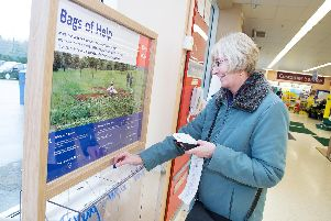 Tesco customers vote on where the money goes each month. Photo: Kevin Lines