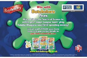 Win South of France rugby Super League trip with Batchelors Peas