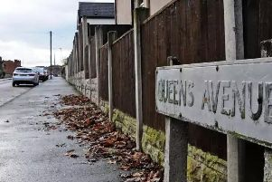 Queen's Avenue, Ilkeston, where the brutal incident took place