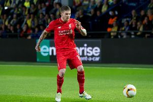 Alberto Moreno is a target for Barcelona.