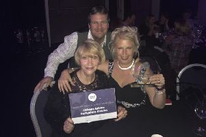 The Financial Futures project set up by Citizens Advice Derbyshire Districts has been named financial project of the year at the charity network's national conference. From left, staff Lesley Singleton, Simon Richards, and Suzanne Fieldsend.