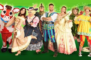 'A whole heap of panto silliness' - Jack and the Beanstalk at Derby Arena