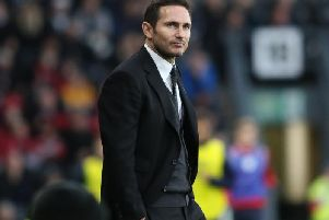 Frank Lampard takes the Rams to Sheffield United today.