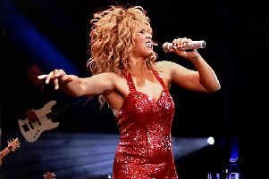 Elesha Paul Moses as Tina Turner in What's Love Got To Do With It?