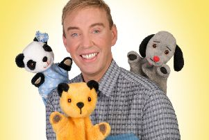 Izzy whizzy, Sooty gets busy creating magic in live show