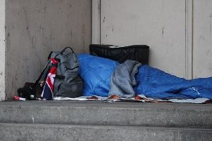Homeless families in Erewash are being placed temporarily in B&Bs for more than three months.