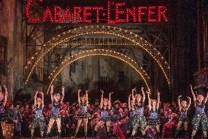 It's showtime in Royal Opera House's production of Faust.