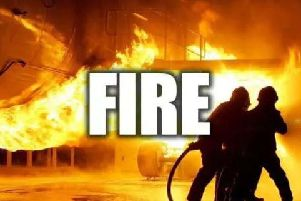 Firefighters successfully tackled the blaze.