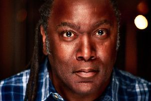 Top stand-up Reginald D Hunter performs Facing The Beast at Derby Theatre