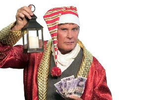 Hasselhoff to play Scrooge at Motorpoint Arena Nottingham this Christmas