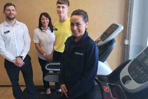 Erewash leisure centre teams are celebrating the cash boost.