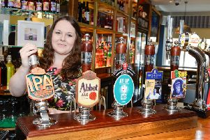 Laura Newman, general manager at the Sir John Warren.
